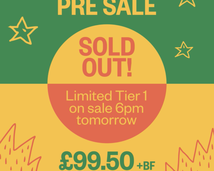 Pre-Sale SOLD OUT!