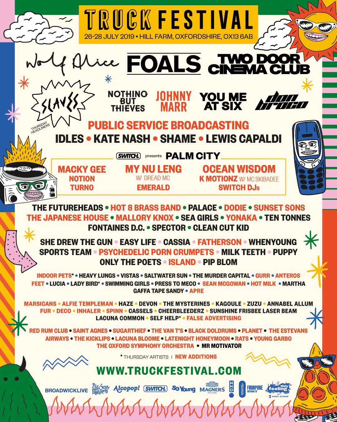 Truck-Festival-2019-2nd-Line-Up-Announce